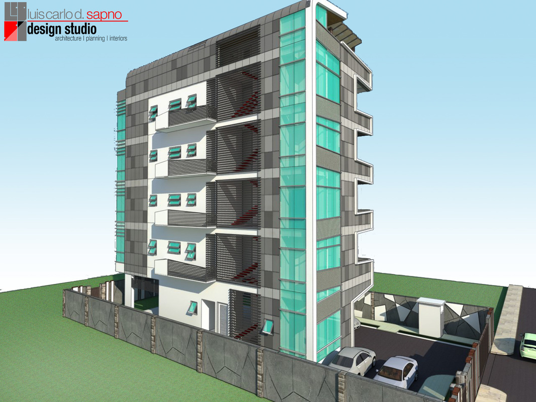 A Proposed Architectural Design of a FiveStorey Residential